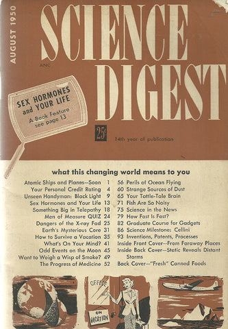 Science Digest August 1950