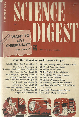 Science Digest September 1950