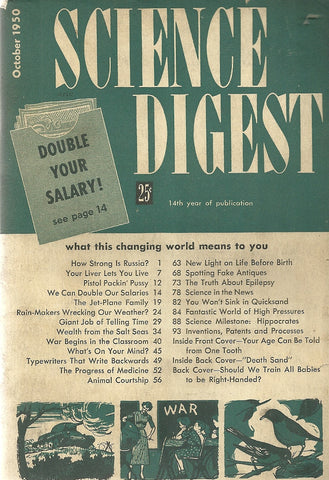 Science Digest  October 1950