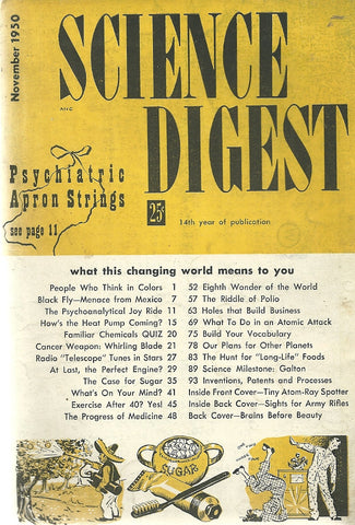 Science Digest  November 1950