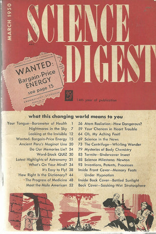 Science Digest June 1949