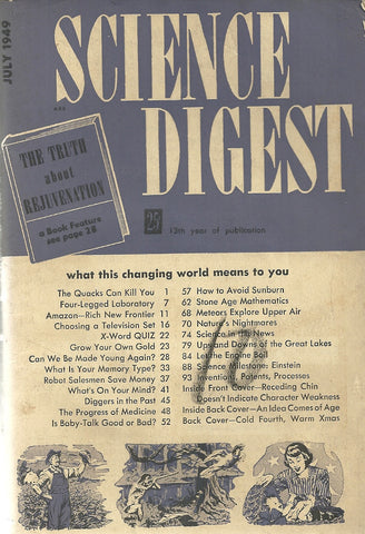 Science Digest July 1949