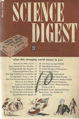 Science Digest March 1949