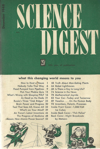 Science Digest December 1948