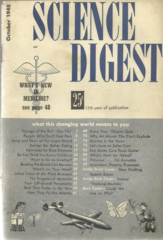 Science Digest October 1948