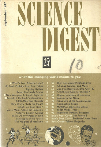 Science Digest September 1947