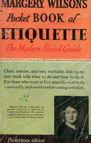 Margery Wilson's Pocket Book of Etiquette