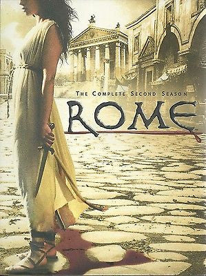 Rome - The Complete Second Season (DVD, 2007, 5-Disc Set)