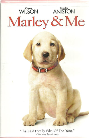 Marley and Me DVD Jennifer Aniston, Owen Wilson