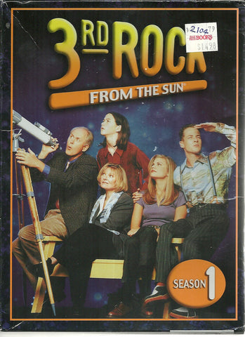 3rd Rock from the Sun - Season 1 (DVD, 2005, 4-Disc Set)