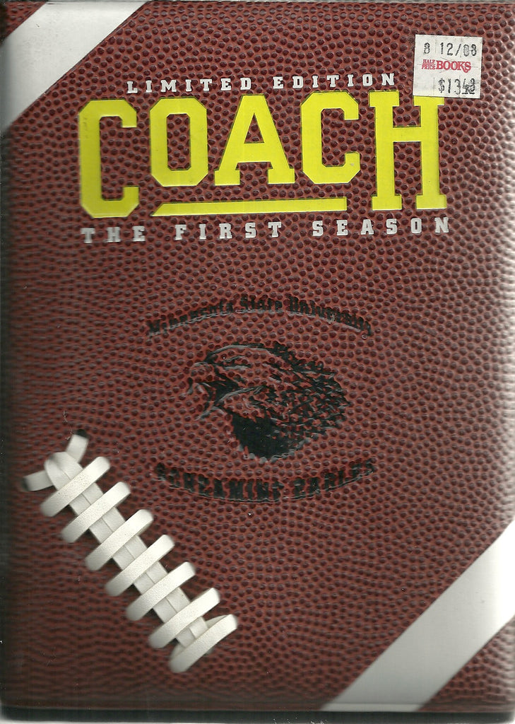 Coach - The First Season (DVD, 2006, 2-Disc Set, Limited Edition)