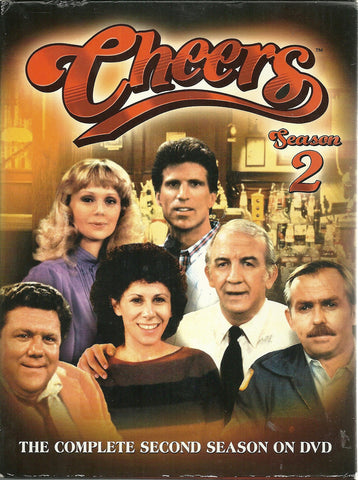 Cheers - The Complete Second Season (DVD, 2004, 4-Disc Set)