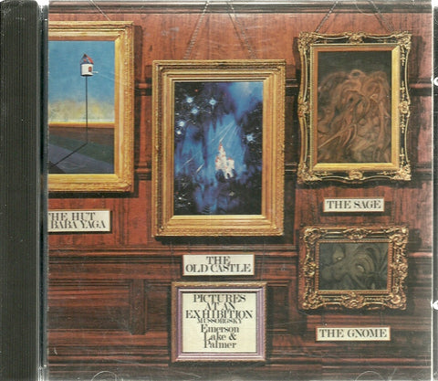 EMERSON LAKE & PALMER (CD) Pictures At An Exhibition