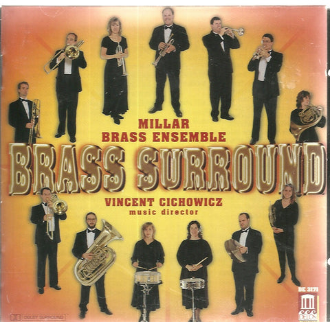 Brass Surround (CD, Nov-1998, Delos)