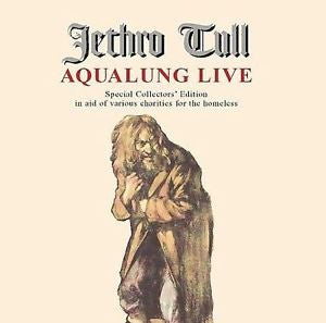 Aqualung Live by Jethro Tull Rock CD