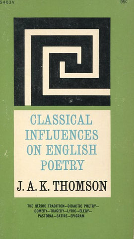 Classical Influences on English Poetry