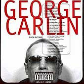 Back in Town [PA] by George Carlin (CD, Sep-1996, Eardrum Records)