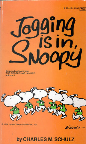Jogging is in Snoopy