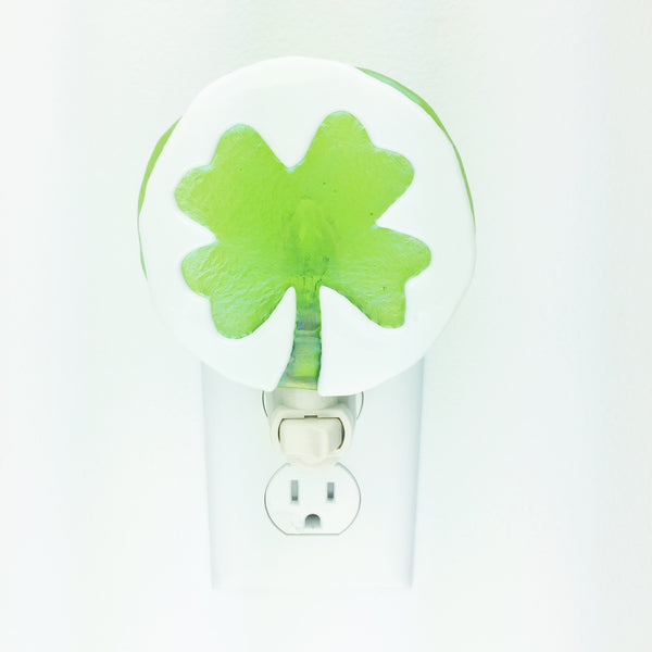 St. Patricks Day Night Light —The C Glass Studio