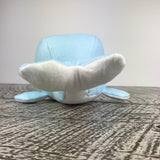 Handmade Recycled Whale Stuffed Animal —The C Glass Studio
