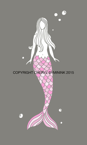 Jaclyn Mermaid Print —The C Glass Studio