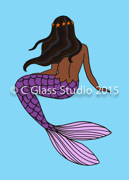 Mermaid Juls —The C Glass Studio