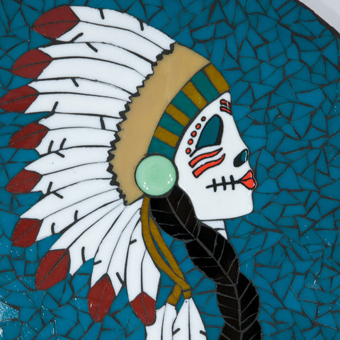 Day of the Dead Mosaic —The C Glass Studio