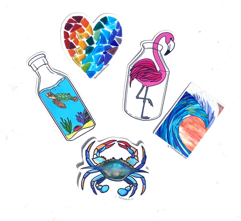 Sticker Pack of 5