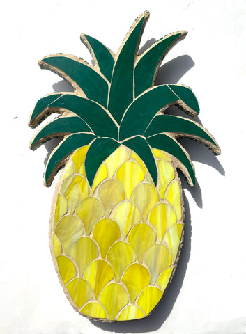 Pineapple Mosaic —The C Glass Studio