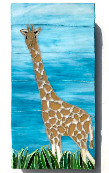 Giraffe Mosaic —The C Glass Studio