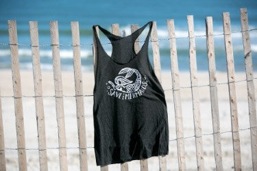 Save the Mermaids Tank top —The C Glass Studio