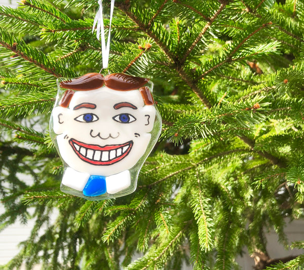 Tillie Ornament —The C Glass Studio