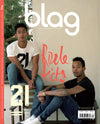 Rizzle Kicks BLAG Magazine Cover Photographer: Sarah J. Edwards, Art Direction: Sally A. Edwards. All Rights Reserved by BLAG UK Ltd.