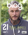 Travis Fimmel BLAG Magazine Cover Photographer: Sarah J. Edwards, Art Direction: Sally A. Edwards. All Rights Reserved by BLAG UK Ltd.