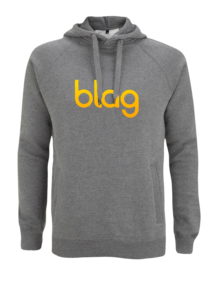 BLAG Premium Hoodie Printed with Sarah J. Edwards and Sally A. Edwards' iconic BLAG logo