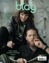 Tom Hardy Noomi Rapace BLAG Magazine Cover Photographer: Sarah J. Edwards, Art Direction: Sally A. Edwards. All Rights Reserved by BLAG UK Ltd.