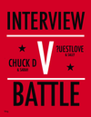 BLAG Interview Battle Sarah J. Edwards interviewed by Chuck D Public Enemy and Sally A. Edwards interviewed by Questlove The Roots  Art Direction by Sally A. Edwards