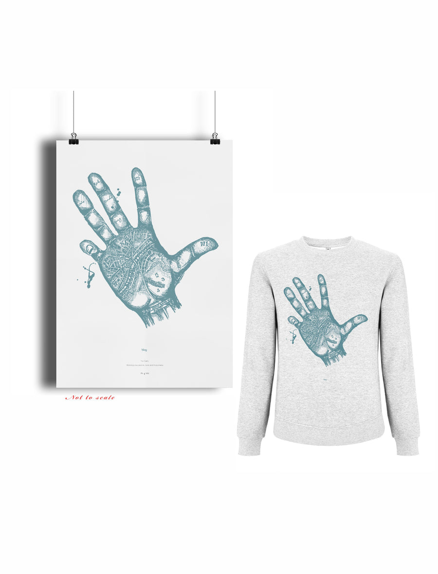 Art Print and Premium Sweatshirt from BLAG by Sarah J. Edwards, Sally A. Edwards and Tom Hardy