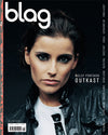 Nelly Furtado BLAG Magazine Cover Photographer: Sarah J. Edwards, Art Direction: Sally A. Edwards. All Rights Reserved by BLAG UK Ltd.