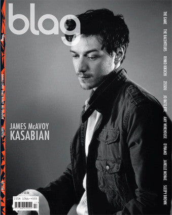 Kasabian BLAG Magazine Cover Photographer: Sarah J. Edwards, Art Direction: Sally A. Edwards. All Rights Reserved by BLAG UK Ltd.