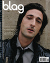 Adrien Brody BLAG Magazine Cover Photographer: Sarah J. Edwards, Art Direction: Sally A. Edwards. All Rights Reserved by BLAG UK Ltd.