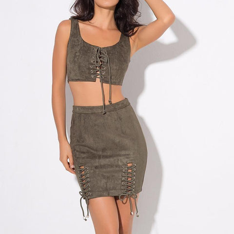 Fergi So Fabulous Set- Army Green