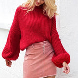 Rosalee Big Apple Red Sweater
