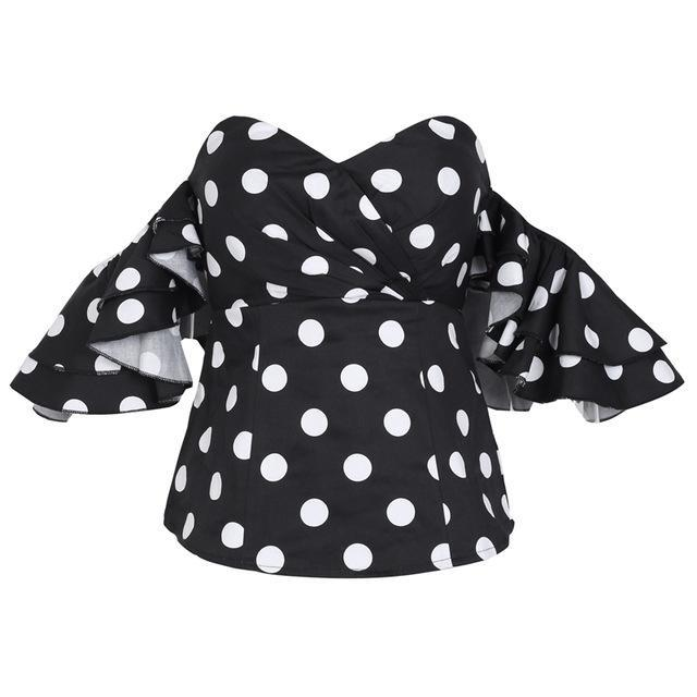 Alexandra Project Polka Dot Top
