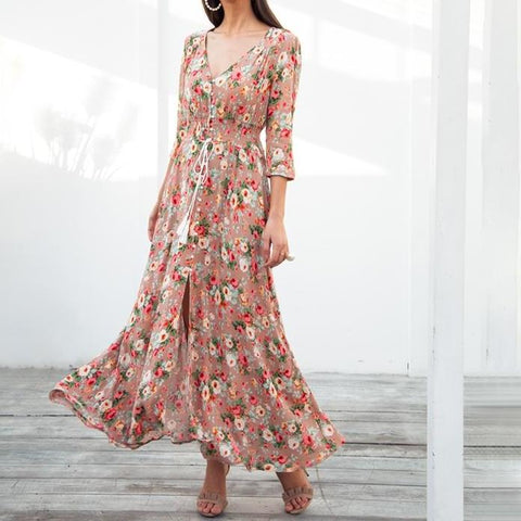 Maryham Bohemian Chic Dress