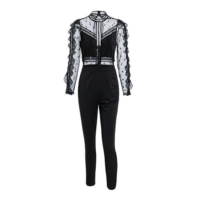 Amaya Limo In Style Jumpsuit