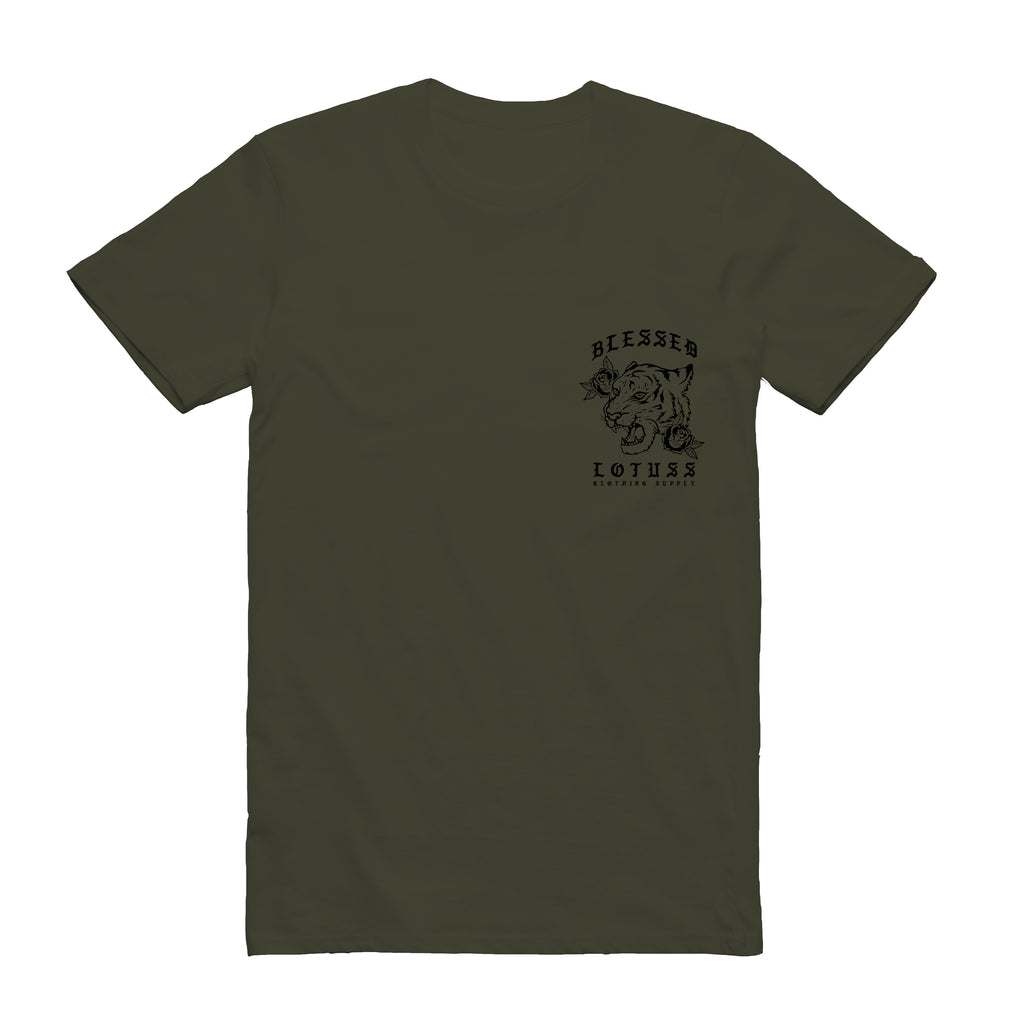 Crouching Tiger Tee (Olive)