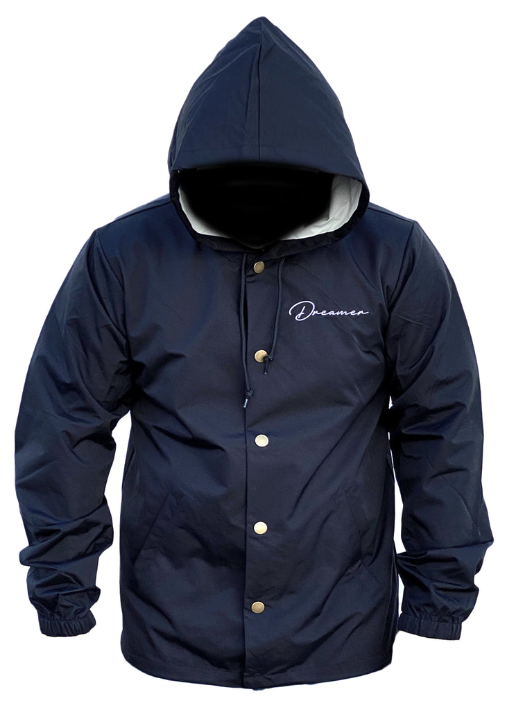 Dreamer Coach Jacket (Black)