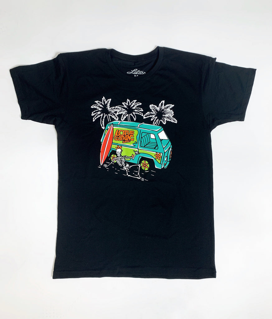 Van of Mystery Tee (Black)