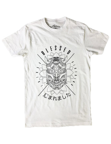 Red Roses Blessed Tee (White)